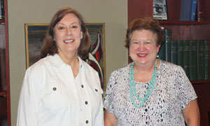 Kay Floyd and Sally Selvidge