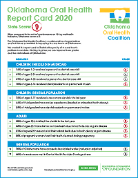 oral health report card