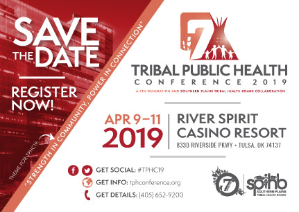 Tribal Health Conference 2019 save the date